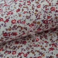Terracotta Floral 100% Cotton