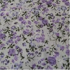 Lavender Ditzy Floral 100% Cotton