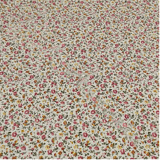 Dusky Pink Floral 100% Cotton