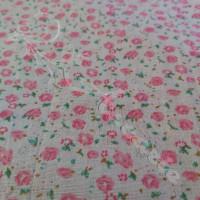 Ditzy Pink Floral  100% Cotton