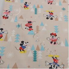 Happy Mice Cartoons  100% Cotton Poplin
