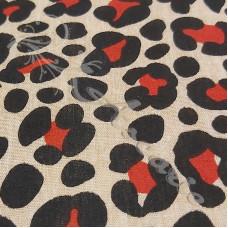 Leopard spots PolyCotton