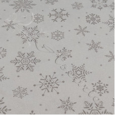 Christmas Sparkling Snowflakes 100% Cotton from John Louden