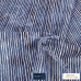Christmas Sparkling Silver Lines on Navy 100% Cotton from John Louden