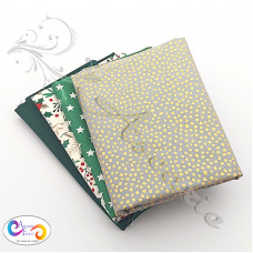 4 Fat Quarter Bundle Christmas 100% Cotton (08)