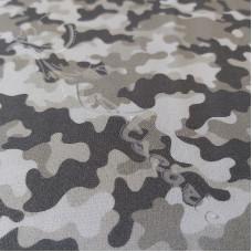 Urban Greys Camo 100% Digital Cotton