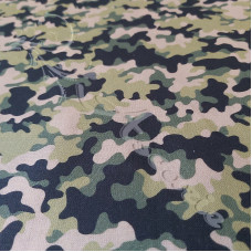 Woodland Camo 100% Digital Cotton