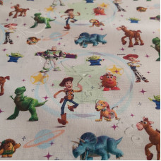 "Disney ""Toy Story "" 100% Cotton Print"