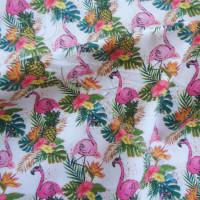 Flamingos & Pineapples 100% Cotton
