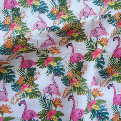 PINK BLOSSOM /& BUTTERFLY BY JOHN LOUDEN 100/% COTTON DIGITAL PRINT FABRIC