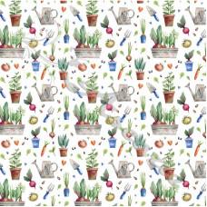 Gardening  100% Digital Cotton
