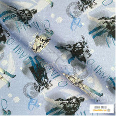 "Star Wars  ""Mandalorian"" 100% Digital Cotton Print"