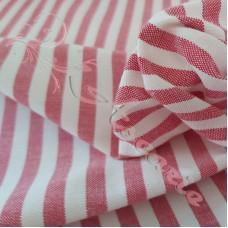 """1/4"""" Red Stripe 100% Cotton"""