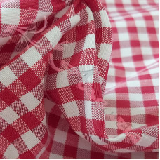 """1/4"""" Red Cotton Gingham"""