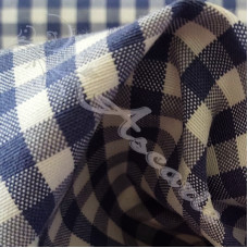 "1/4"" Royal Blue Cotton Gingham"