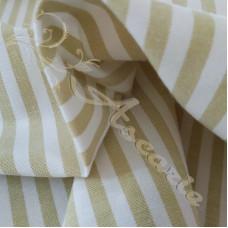 "1/4"" Sage Stripe 100% Cotton"