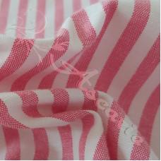 "1/4"" Pink Stripe 100% Cotton"