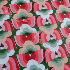 PVC Table Coverings Red - Green