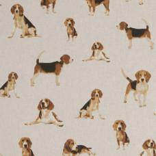 Cotton Rich Linen Beagles