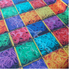 Loom Bands  Cotton Rich Linen Look Fabric