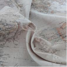 Cotton Rich Linen Look World