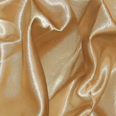 Plain Gold Polyester Satin