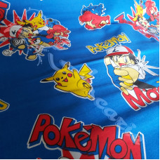 Pokemon  100% Cotton Print
