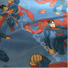 DC Comic Superman  100% Cotton Print