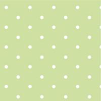 Green Dotty Spot 100% Cotton