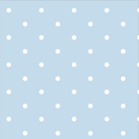 .93cm Dotty Spot Powder Blue 100% Cotton