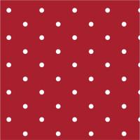 Red Dotty Spot 100% Cotton