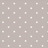 Taupe Dotty Spot 100% Cotton