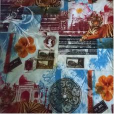 140cm x 1.6m  Pop Art Retro Fabric
