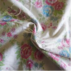 3.15mts  Cotton Floral Design Fabric