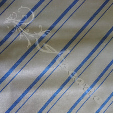 Silver with Blue Stripes Ironing board material