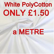 White PolyCotton