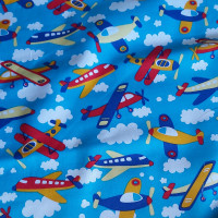 Planes  100% Cotton