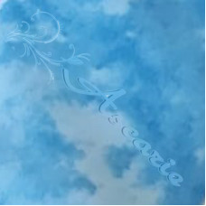 Sky Blue Blender Batik Fabric 100% Cotton