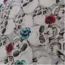 Skulls & Roses 100% Cotton