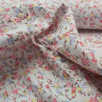Ditsy Pink, Blue & Yellow Flowers 100% Cotton