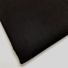 Black 100% Plain Cotton
