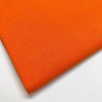 Orange 100% Plain Cotton