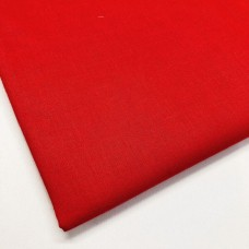 Red 100% Plain Cotton
