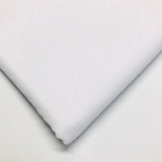 White 100% Plain Cotton
