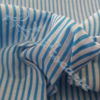 Sky Blue Candy Stripe 100% Cotton