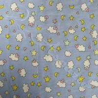 Cloud,Stars & Moon 100% Cotton