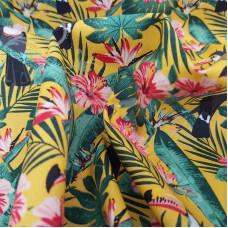 Tropical Toucans 100% Cotton Rose & Hubble