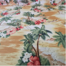 Typical Tropical from Rose & Hubble 100% Cotton Poplin