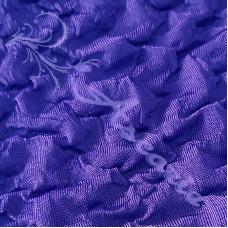 Purple Ruched Stretch Dress Fabric