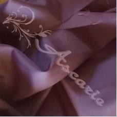 Plain Purple Polyester Dress Lining